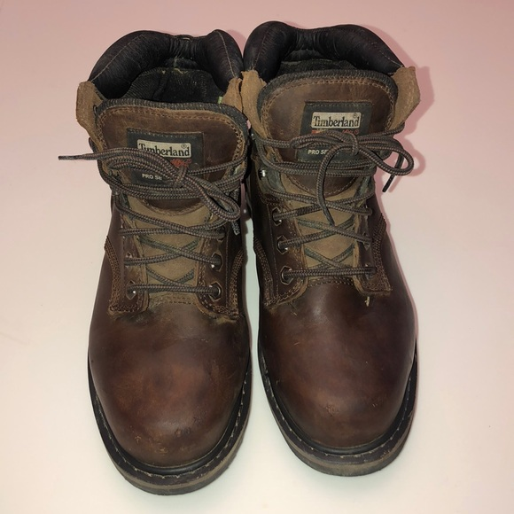 Timberland Pro Series Steel Toe Boots